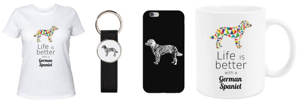 produkty z psami mysliwskimi